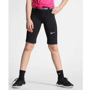 Nike Pro Girl's 1/2 Tights Size Small